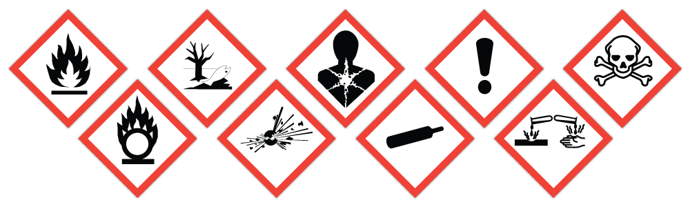 CLP pictograms